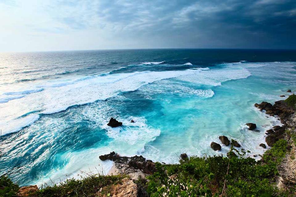 Spiaggia selvaggia a Bali