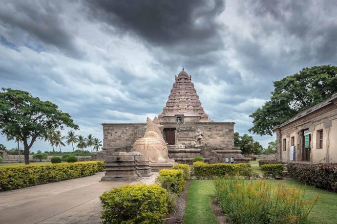 Tempio di Shiva a Tamil Nadu, India