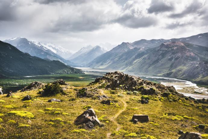 Scorcio nei pressi di Ushuaia