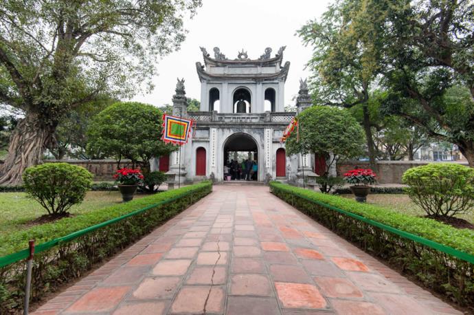 Tempio della Letteratura ad Hanoi, Vietnam