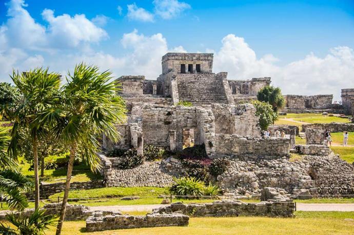 Rovine maya di tulum, Messico