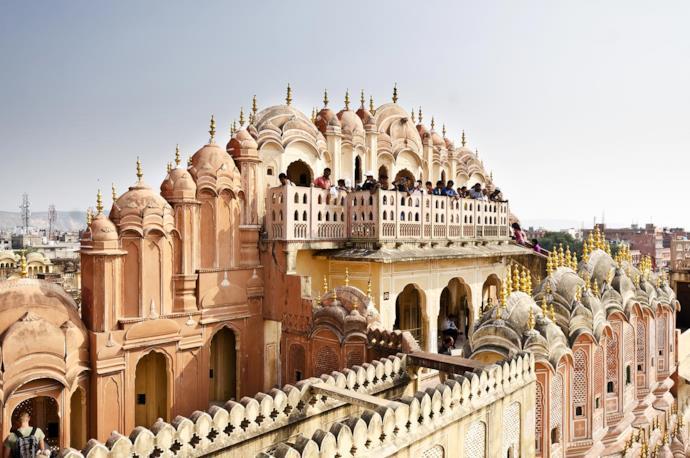 Hawa Mahal, palazzo a Jaipur, India