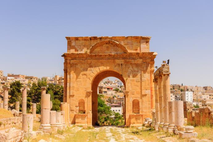 Arco romano a Jerash
