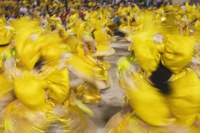 Danze al Carnevale di Rio de Janeiro