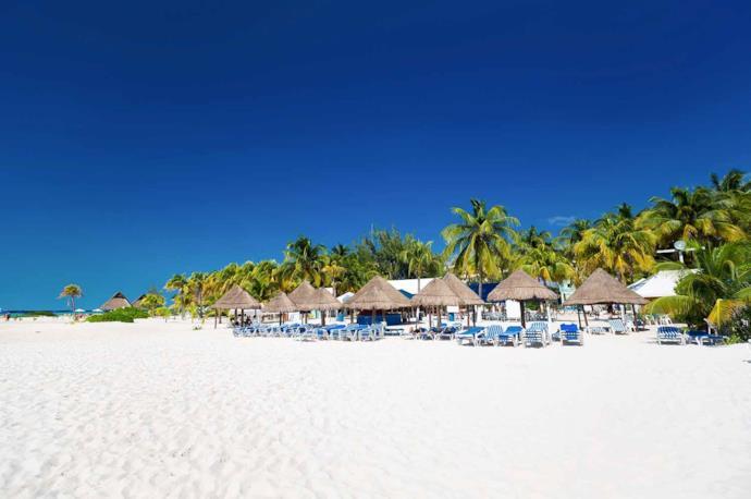 Spiaggia a Cancun, Messico