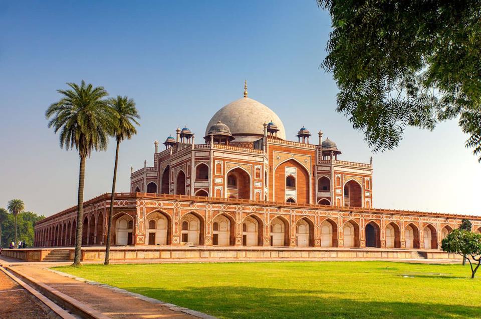 Viaggiare in India: Tomba di Humayun a Delhi