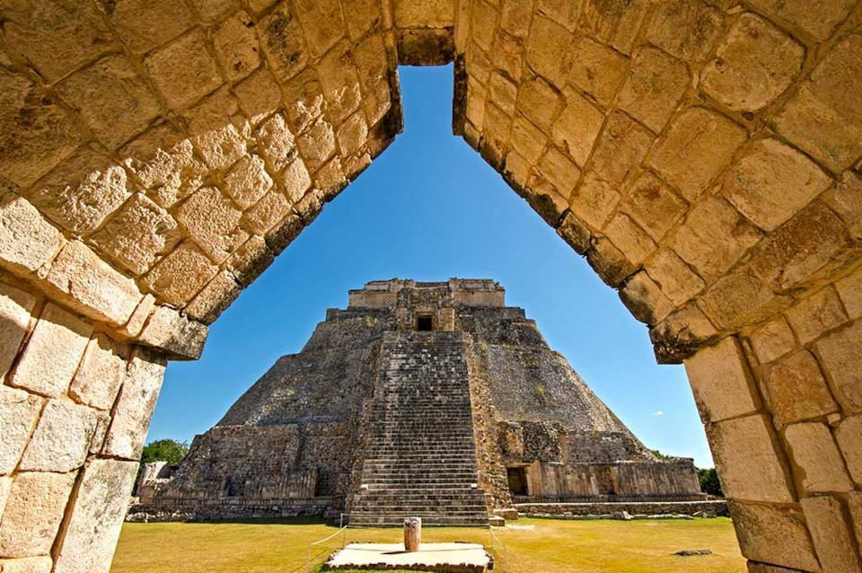 Ingresso di Uxmal in Messico