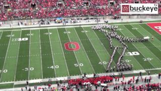 Tributo a Michael Jackson fatto dall'Ohio State Marching Band