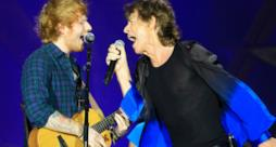 Rolling Stones, duetto con Ed Sheeran sulle note di Beast Of Burden (video)
