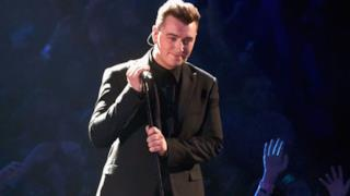 Sam Smith - I'm Not The Only One live AMA's 2014 (video)