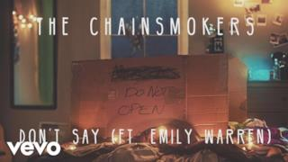 The Chainsmokers - Don't Say (feat. Emily Warren) (Video ufficiale e testo)