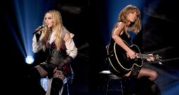 Madonna e Taylor Swift, un sexy duetto agli iHeartRadio Awards 2015