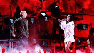 Eminem & Rihanna MTV Movie Awards 2014 - The Monster