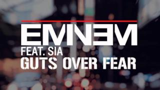 Eminem  ft. Sia - Guts Over Fear (audio ufficiale e testo)