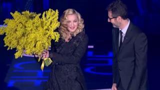 Madonna ospite a Che Tempo Che Fa l'8 marzo 2015 (video)