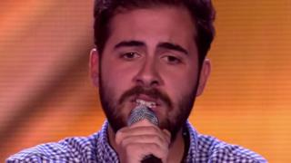 Andrea Faustini canta I Didn't Know My Own Strength a X Factor UK (video)