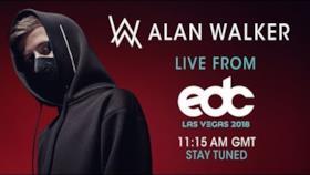 Alan Walker @ EDC Las Vegas 2018 (kineticField)