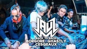 JAUZ - FULL LIVE SET b2b BORGORE, GHASTLY, CESQEAUX @ Bootshaus Cologne 2017