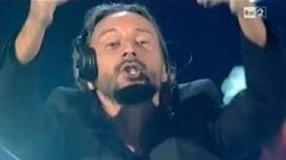 Bob Sinclar a The Voice of Italy - Summer Moonlight