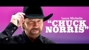 Laura Michelle - Chuck Norris (Video ufficiale e testo)