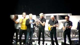 Roger Waters, David Gilmour and Nick Mason reunited for Outside The Wall 12/05/11