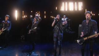 The Vamps & Demi Lovato - Somebody to You (live at Ellen Degeneres show)