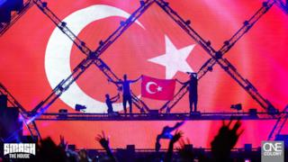 Dimitri Vegas & Like Mike @ KüçükÇiftlik Park, İstanbul, Turkey 2017-07-10