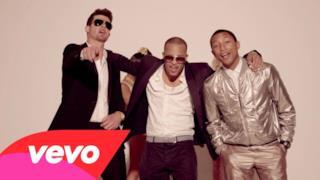 Robin Thicke ft. T.I. & Pharrell - Blurred Lines (Video ufficiale, testo e traduzione)
