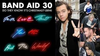 One Direction, Rita Ora, U2, Ellie Goulding pronti per registrare il singolo Band Aid 30