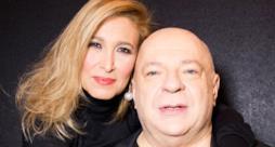 Grazia Di Michele e Mauro Coruzzi (Platinette) - Alghero (Sanremo 2015 cover Giuni Russo)