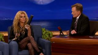 KeSha interview on Conan