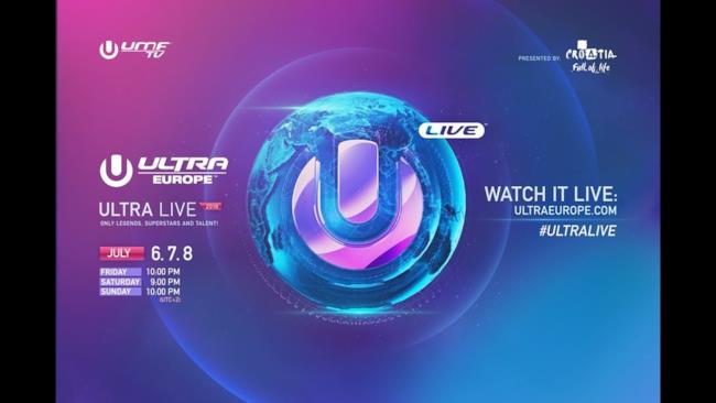 ULTRA LIVE presents Ultra Europe 2018 - DAY 1