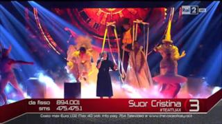 Suor Cristina canta BEAUTIFUL THAT WAY