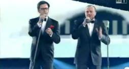 Max Pezzali con Lillo e Greg - Il mio secondo tempo (sanremo 2011 duetti)
