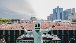 Marshmello – Live @ Ultra Music Festival Singapore 2016