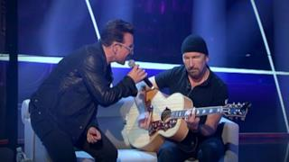 U2: Bono e The Edge intervista Che tempo che fa 2014