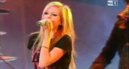 Avril Lavigne - What the hell (serata finale sanremo 2011)