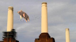 ► The pig flies over Battersea - Pink Floyd remastered albums come out
