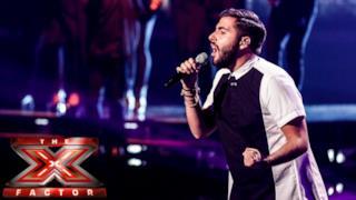 Andrea Faustini canta Earth Song al primo Live di X Factor UK