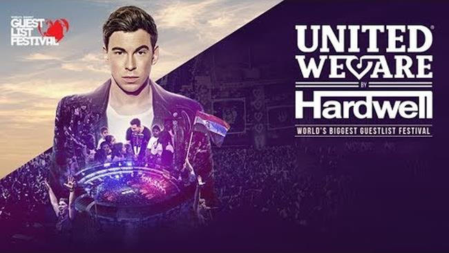 Hardwell LIVE @ World Biggest Guestlist Festival 2017