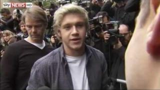 Niall Horan parla del Band Aid 30