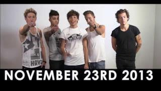 One Direction: 1D DAY 23 novembre 2013