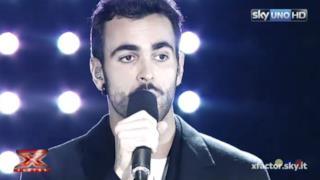 Marco Mengoni canta Guerriero a X Factor 8 (video)