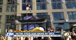 Steve Aoki mi ha rotto il collo