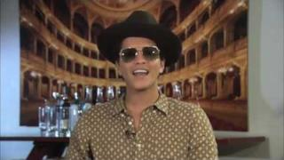 Bruno Mars direttamente dal giappone