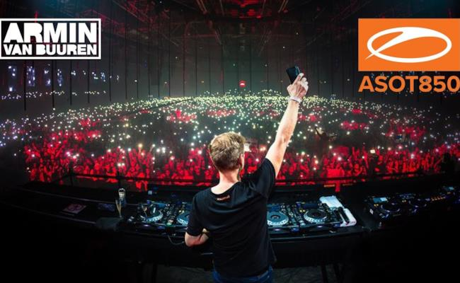 Armin van Buuren live at A State Of Trance 850