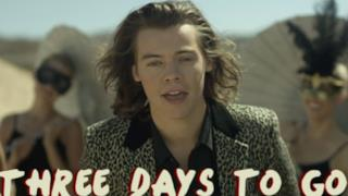 One Direction - Steal My Girl 3 days to go teaser con Harry Styles