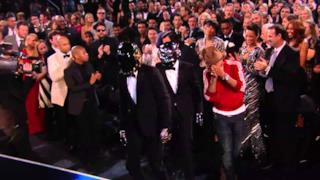 I Daft Punk e Pharrell Williams vincono il premio Best Pop Duo Group Performance