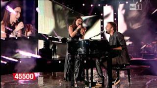Laura Pausini e Cesare Cremonini - L'anno che verrà al Concerto per l'Emilia [VIDEO]