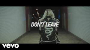 Snakehips - Don't Leave (Video ufficiale e testo)